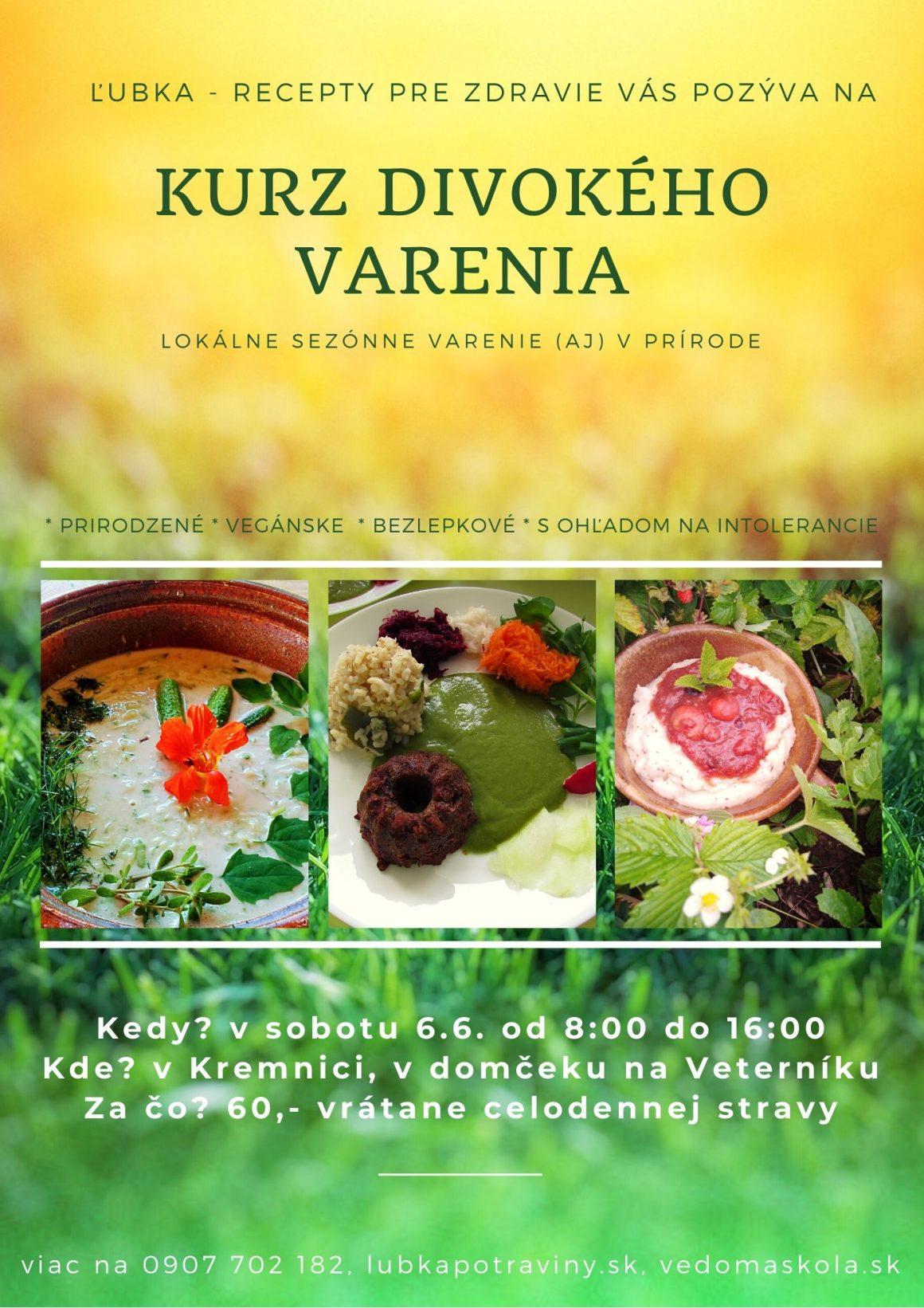 Kurz divokého varenia v Kremnici